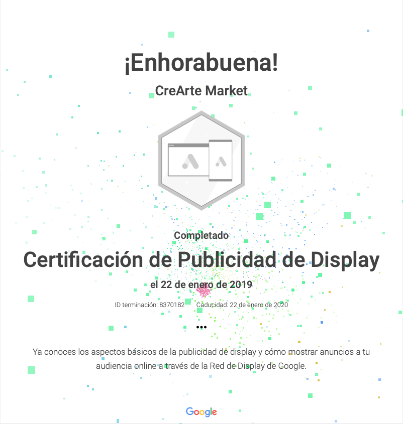 certificacion google ads display