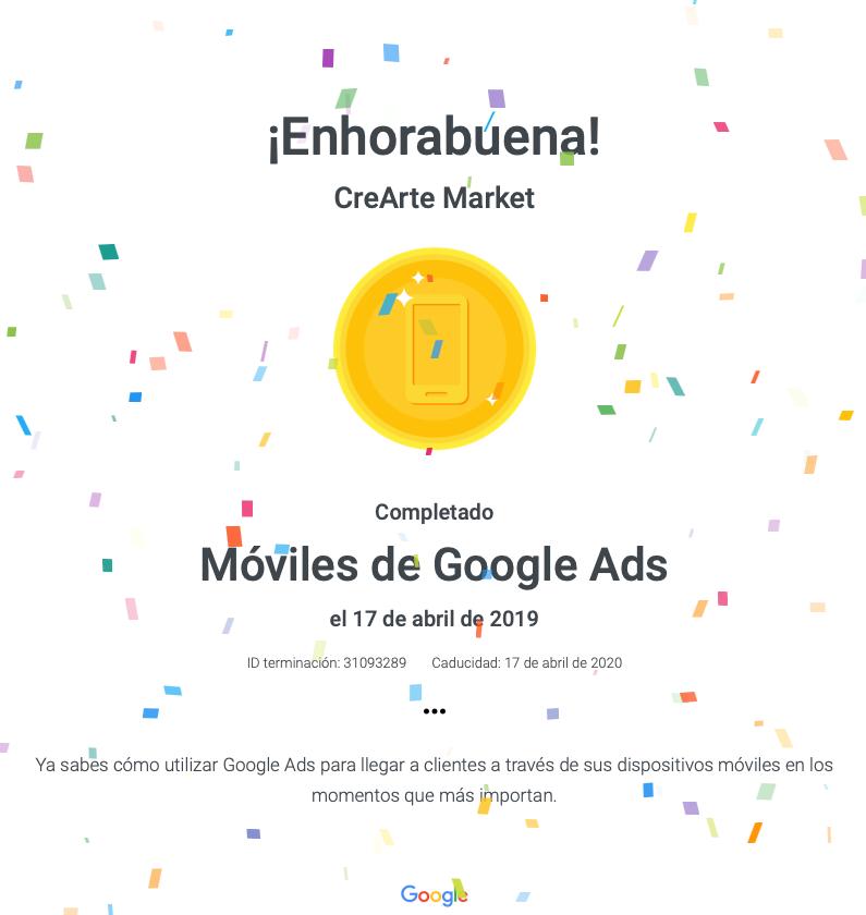 publicidad moviles google ads crearte market